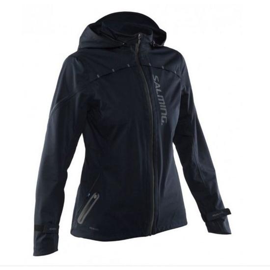 Kabát Salming Abisko Rain Jacket Women Black