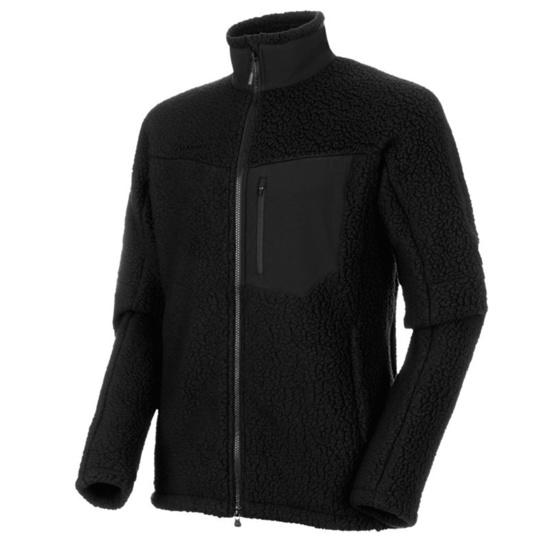 Férfi Pulóver Mammut innominata Pro ML Jacket Men black 0001
