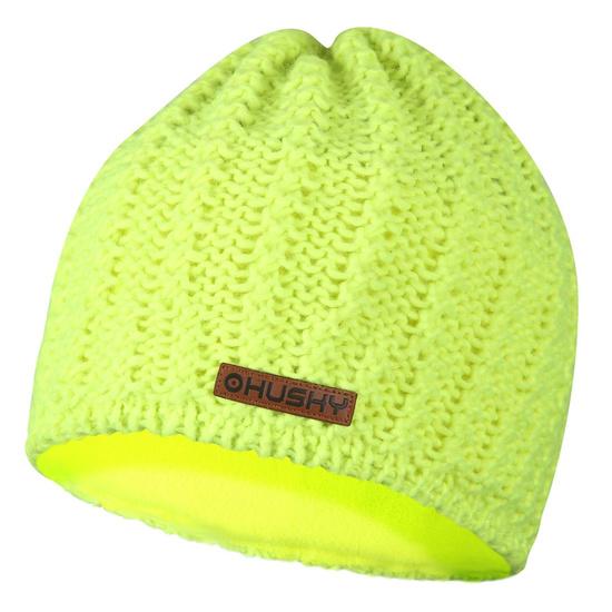 Női sapka Husky Cap 30 neon sárga