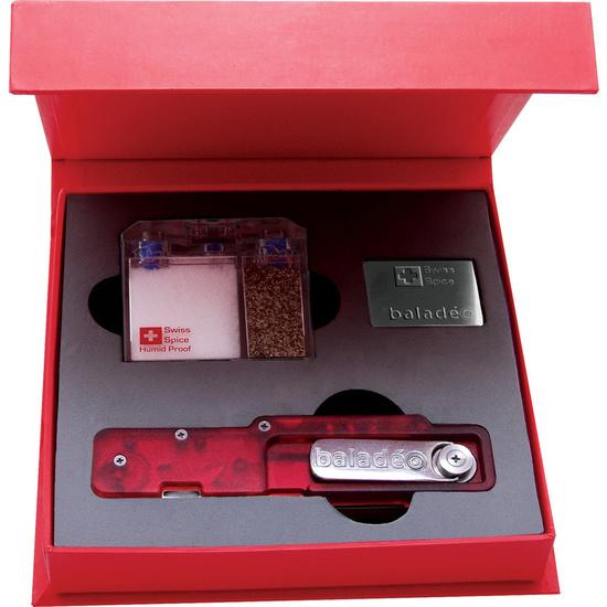 Készlet Baladéo Külső villa és kanál & Swiss Spice ECO111