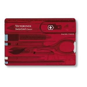 Kés Victorinox SwissCard Classic 0.7100.T, Victorinox