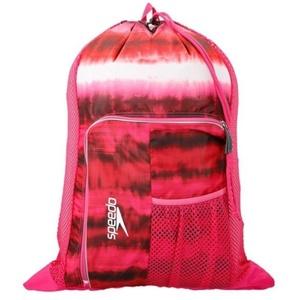 Táska Speedo Deluxe nyílás háló bag xu Pink 68-11234c301, Speedo