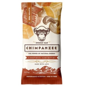 CHIMPANZEE BOX ENERGY BAR kesudió karamella 20ks, CHIMPANZEE