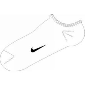 Zokni Nike Ankle Femme Pink SX1430-152, Nike