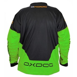 Kapus mez OXDOG VAPOR GOALIE SHIRT black/green, Exel