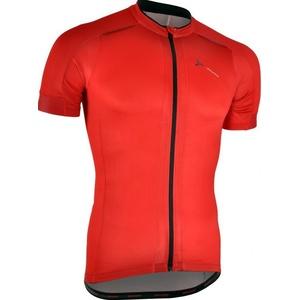 Férfi kerékpáros mez Silvini CENO MD1000 piros-fekete, Silvini
