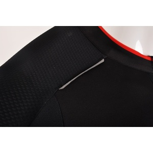Férfi kerékpáros mez Silvini CENO MD1000 black-red, Silvini
