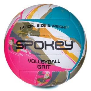 Röplabda labda Spokey GRIT türkiz, fehér és rózsaszín č.5, Spokey