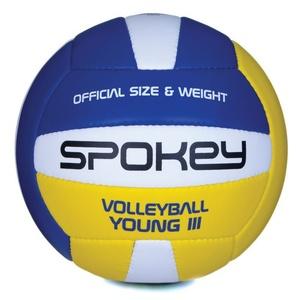 Röplabda labda Spokey YOUNG III kék-sárga vel.4, Spokey