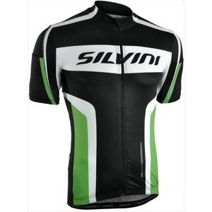 Férfi kerékpáros mez Silvini Lemmy MD603 fekete-erdő, Silvini