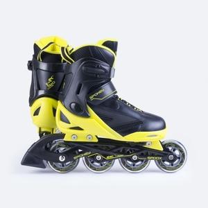 Korcsolyát korcsolyát Spokey SPOOX fekete-sárga, Spokey