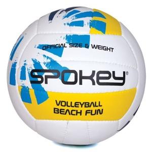 Röplabda labda Spokey BEACH FUN kék-fehér č.5, Spokey
