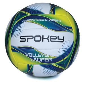 Röplabda labda Spokey LAUFER fehvena-kék-sárga rozm.5, Spokey