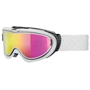 Ski szemüveg Uvex COMANCHE Take off pola, fehvena / litemirror pink (1026), Uvex