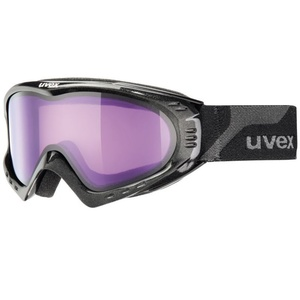 Ski szemüveg Uvex F 2, black met/ pszicho (2124), Uvex