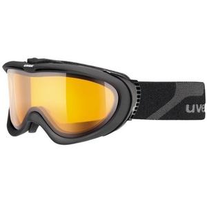 Ski szemüveg Uvex UVEX COMANCHE, black mat / lasergold lite (4229), Uvex