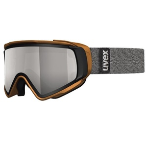 Ski szemüveg Uvex Jakki TAKE OFF POLA, black mat / litemirror red (2026), Uvex