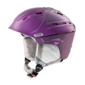 Ski sisak UVEX P2US WL, lila / pink sakk és matt (S566178900*), Uvex