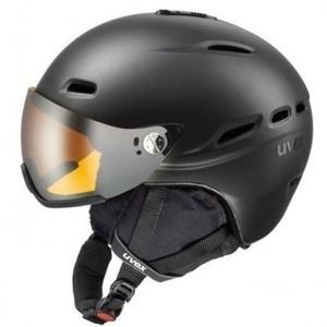Ski sisak UVEX HLMT 200, black sakk és matt (S566176440*), Uvex