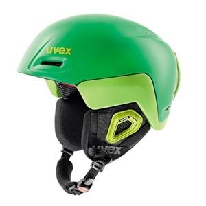 Ski sisak UVEX feszítővas OCTO +, zöld citrom sakk és matt (S566205320*), Uvex