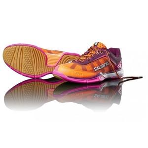 Cipő Salming Viper 4 Women Lila / narancs, Salming