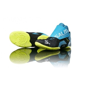Cipő Salming Slide 5 Kapus Shoe Cián / fekete, Salming