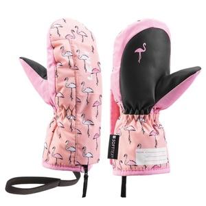 Kesztyű LEKI Little Flamingo Támad Mitt 640890401, Leki