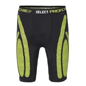 A tömörítés rövidnadrág Select Compression shorts 6407 fekete, Select