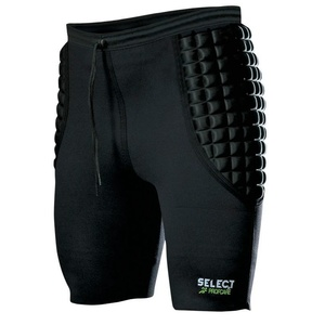 A tömörítés rövidnadrág Select kapus pants 6420 fekete, Select