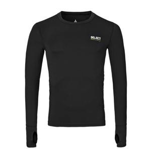A tömörítés póló Select Compression T-shirt L / S 6902 fekete, Select