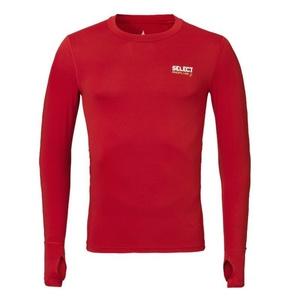 A tömörítés póló Select Compression T-shirt L / S 6902 piros, Select