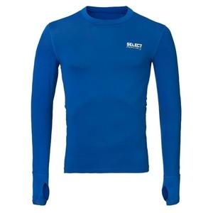 A tömörítés póló Select Compression T-shirt L / S 6902 kék, Select