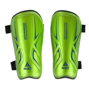 Védők lábszáron Select sípcsont gárdisták Standard zöld kék, Select