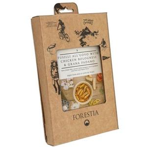 Élelmiszer Forestia hosszúkás ruta all'uovo  csirke -ban bologna szósz  Grana padano ( hősugárzó), Forestia