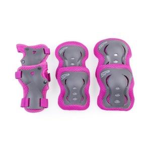 Készlet gyerekek protektorok Spokey SHIELD 3-dílná, rózsaszín, Spokey