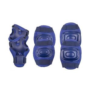 Készlet gyerekek protektorok Spokey AEGIS 3-dílná, sötét kék, Spokey