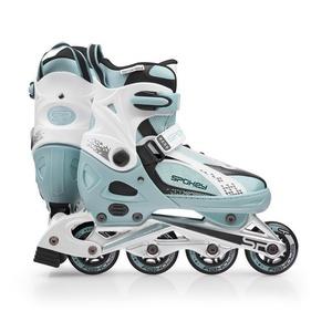 Korcsolyát korcsolyát Spokey RENO kék-fehér, Spokey