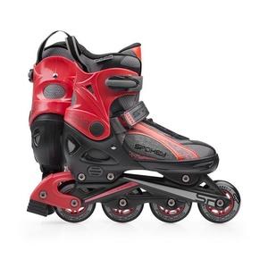 Korcsolyát korcsolyát Spokey RENO fekete-piros, Spokey