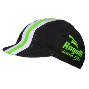 Sport siltes sapka Rogelli RETRO, fekete-zöld 009.954., Rogelli