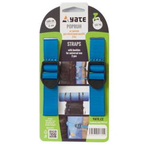 Szíj YATE  kapocs 2x75 cm 2 db, Yate