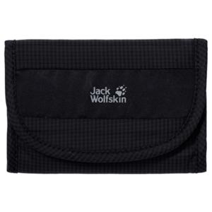 Levéltárca JACK WOLFSKIN Cashbag Wallet RFID fekete, Jack Wolfskin
