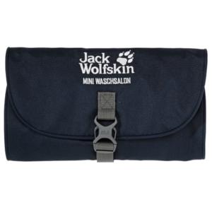 Retikül JACK WOLFSKIN Mini Waschsalon tm. kék, Jack Wolfskin