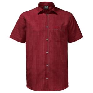 Ingek JACK WOLFSKIN El Dorado Shirt Men piros, Jack Wolfskin
