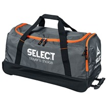 Sport táska Select Teambag Verona with kerekek szürke, Select