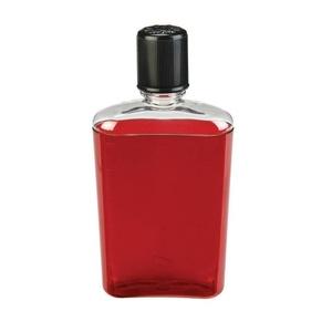 Üveg Nalgene Flask Red with Black Cap, Nalgene