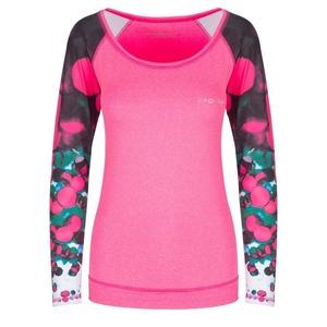 Spokey állóképesség póló hosszú ujj BALLS rózsaszín, Spokey