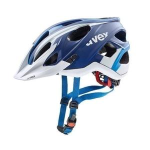 Sisak Uvex Stivo CC, blue white sakk és matt, Uvex