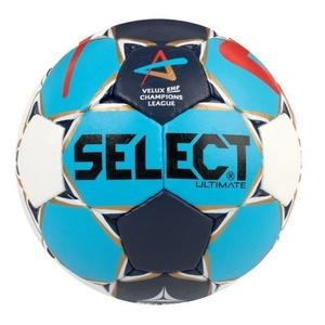 Kézilabda labda Select Félpanzió Ultimate Champions League Men fehér kék, Select