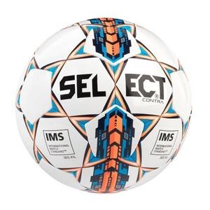 Labdarúgás labda Select FB Contra fehér narancssárga, Select