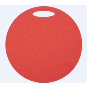 Széklet Yate kerek 1 réteg átmérő 350 mm piros, Yate